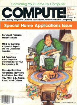 Compute! Magazine Issue #55 - December 1984