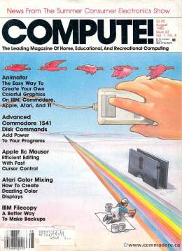 Compute! Magazine Issue #63 - August 1985