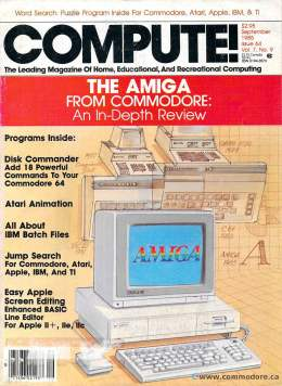 Compute! Magazine Issue #64 - September 1985