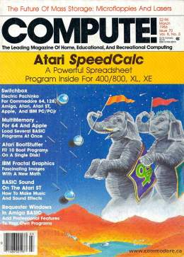 Compute! Magazine Issue #70 - March 1986