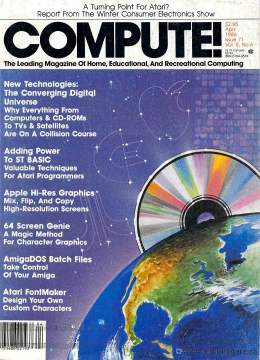 Compute! Magazine Issue #71 - April 1986