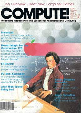 Compute! Magazine Issue #77 - October 1986