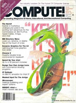 Compute! Magazine Issue #90 - November1987