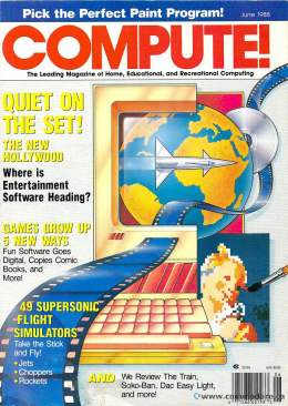 Compute! Magazine Issue #97 - June 1988 - IBM - Apple - Commodore - 64 -  Amiga - Atari