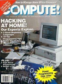 Compute! Magazine Issue #120 - May 1990 - Commodore 128 - Amiga - IBM PS1 - Apple - Amiga - Hacking At Home
