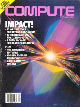 Compute! Magazine Issue #144 - September 1992 - Writing Tools Draw Packages Commodore Apple Microsoft