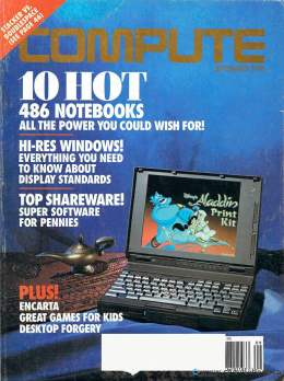 Compute! Magazine Issue #156 - September 1993 - 486 Notebooks Hi-Res Windows Shareware Commodore Apple Microsoft IBM