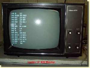 Monitor Output of a KIM1