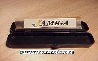 UNUSED COMMODORE AMIGA LABEL IN CASE