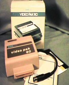 VIDEO PACK 80: The Video Pak 80 switches Commodore 64's between a 40 or 80 column monitor in black and white, or back to the standard color screen. All switching is done through software and no cables need to be moved. The Video Pak 80 includes a terminal mode, which brings communication with central data bases, at no extra cost. It also supports the advanced screen handling features of all Video Pak models such as erase to end of line, erase to end of screen, and dump screen to printer.