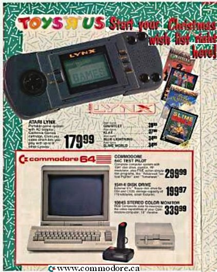 C64 TOYS R US 1990 - It was definately cheap!