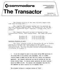 The Transactor Vol 1 06 1978