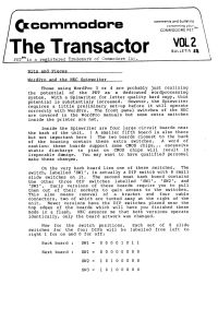 The Transactor Vol 2 11 198?