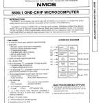 MOS 6500 CPU Specification