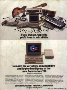 Commodore-c128-vs-Apple-IIc-advert-1985