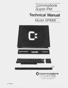 Commodore SuperPET Technical Service Manual and Schematics Manual