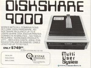 diskshare for Commodore PET