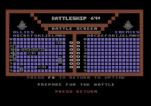 Commodore 64 Battleship