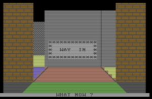Commodore 64 Labyrinth