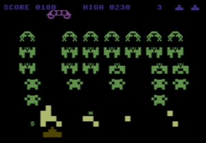 Commodore 64 Space Invaders