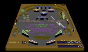 Commodore 3D Pinball 1985