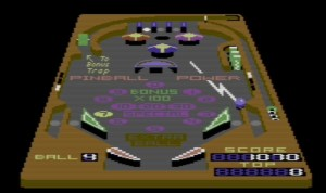 Commodore 3D Pinball 1985