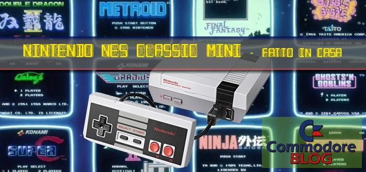 Nintendo Classic NES Mini - Fatto in Casa