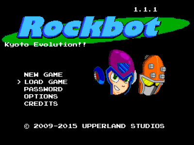 Rockbot - Schermo dei Titoli
