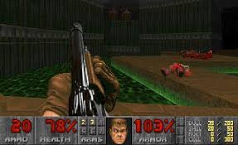 Doom, sviluppato dalla id Software.