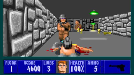 Wolfenstein, il primo sparatutto 3D sviluppato da id Software