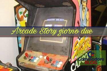 ARCADE STORY - giorno due