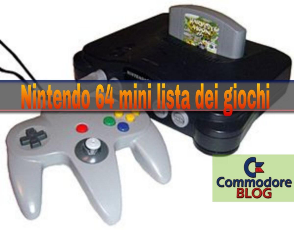 N64, Games' List