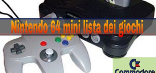 N64 lista giochi