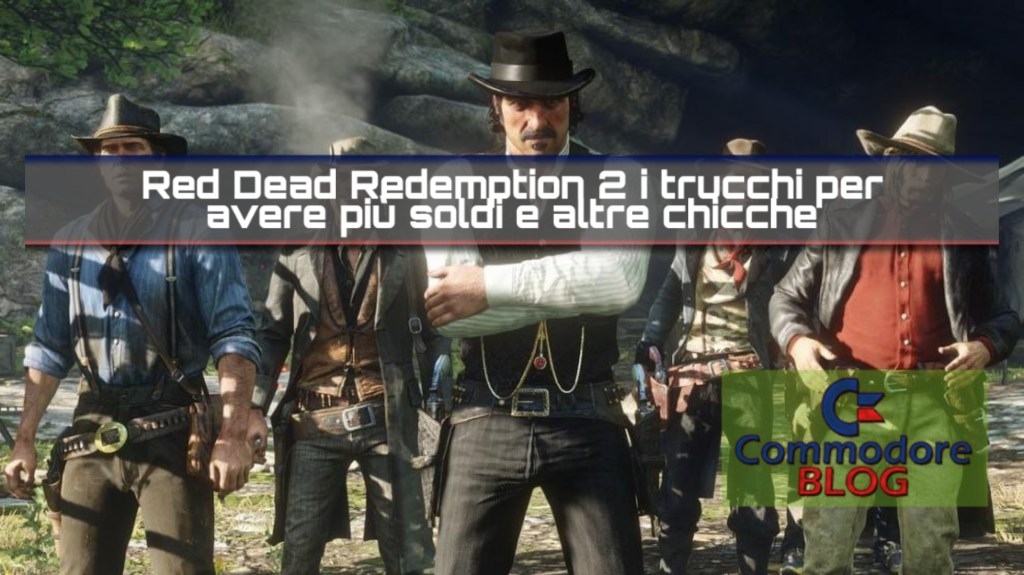 Red dead redemption 2 copertina