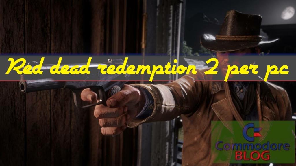 Red dead redemption 2 per pc copertina