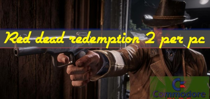 Red dead redemption 2 per pc copertina