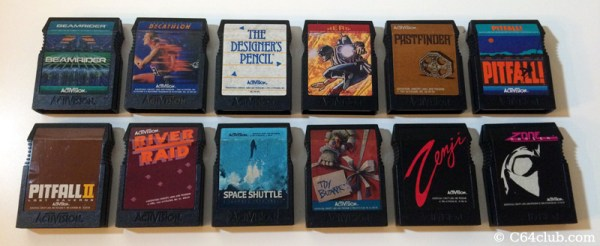 All 12 Activision cartridges officially released for the ...