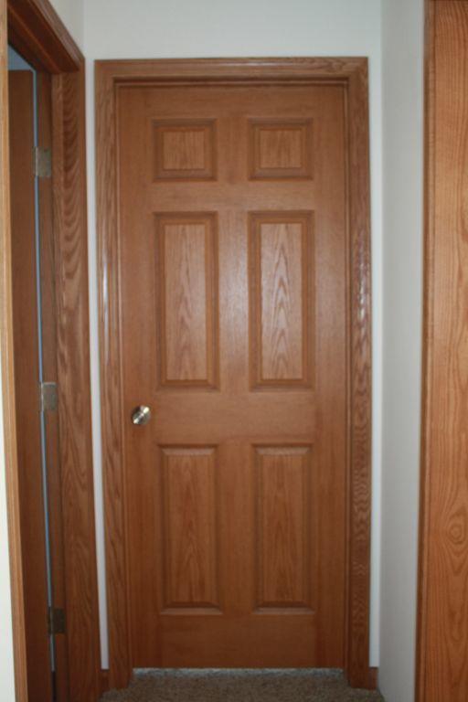 Wood grain interior doors for 6 panel oak interior door slab