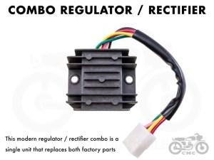 Honda Rectifier  Regulator CB350  CB360  CB450  CB500T | Common Motor Collective