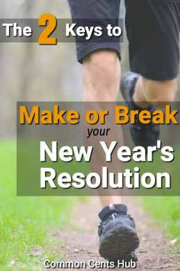 2 keys that will make or break your new years resolution