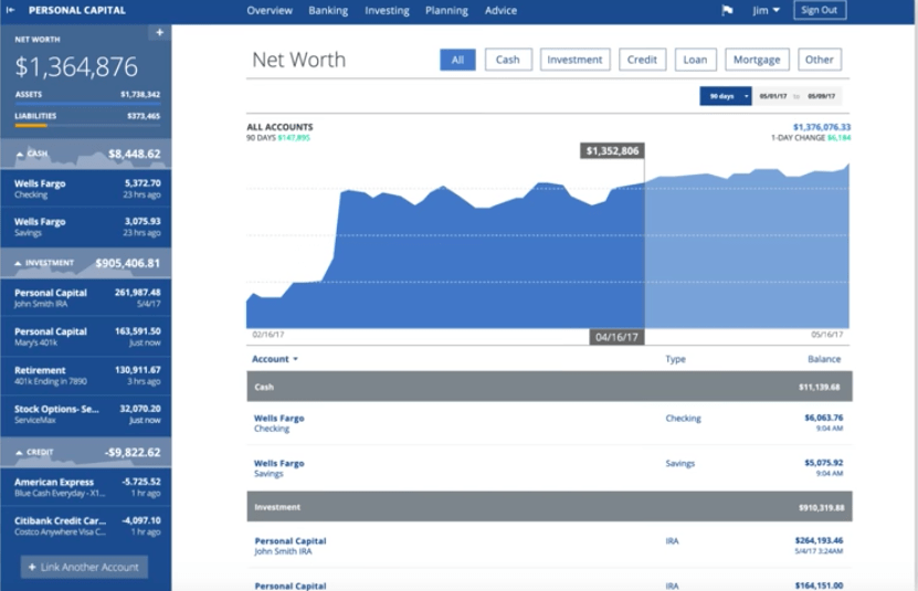 Personal Capital review   free wealth management   money apps   free money management   personal finance apps   free finance apps   free personal finance software   low cost finance apps   manage money   how to manage money easily   simple money management   Personal Capital app   Personal Capital budgeting   Personal Capital security   Personal Capital net worth.