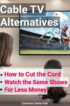Cutting the cord is a way to watch the same content for a lot less money