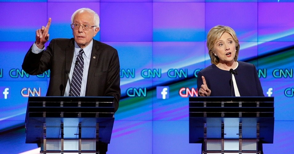 """I would hope very much that as we go into New York state, Secretary Clinton's home state, that we will have a debate – New York City or Upstate, wherever – on the important issues facing New York and, in fact, the country,"" Sanders said on Sunday. (Photo: AP)"