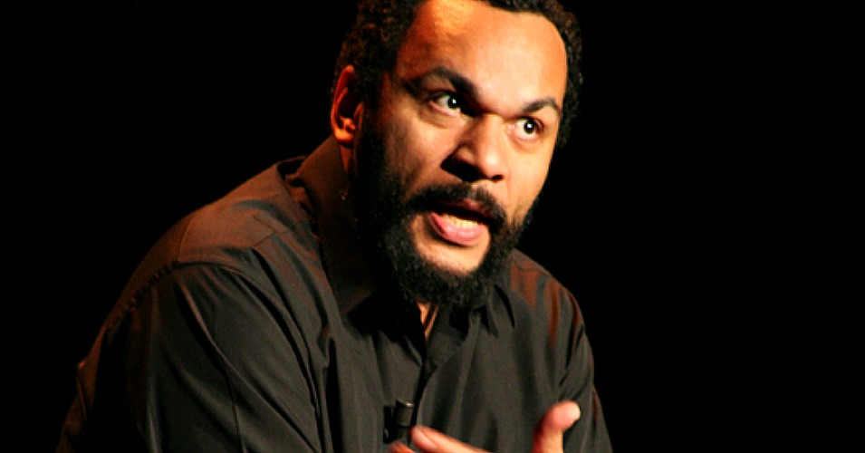 Dieudonné, the controversial French comic pictured here in 2007, was arrested Wednesday morning for a Facebook post mocking the Charlie Hebdo attack. (Photo: Alexandre Hervaud/cc/flickr)