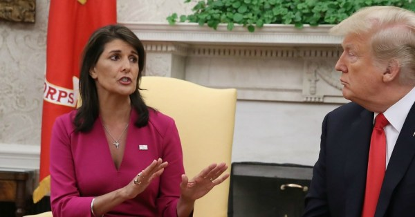 As Nikki Haley Resigns, Critics Forced to Clarify That ...