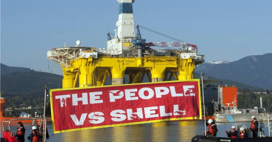 All eyes are on Seattle this weekend as activists fight Shell's dirty Arctic plans. (Photo: Greenpeace)