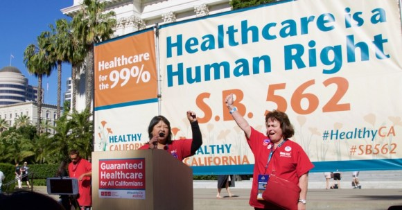 New analysis adds fuel to an ongoing debate over the costs of insuring all Californians?a debate sure to reverberate nationally. (Photo: National Nurses United/Flickr/CC)