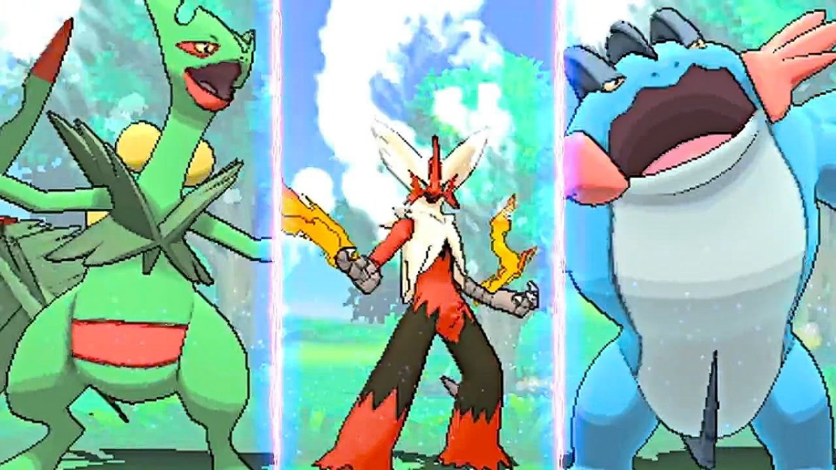 E3 Gameplay of 'Pokemon Omega Ruby' and 'Alpha Sapphire'