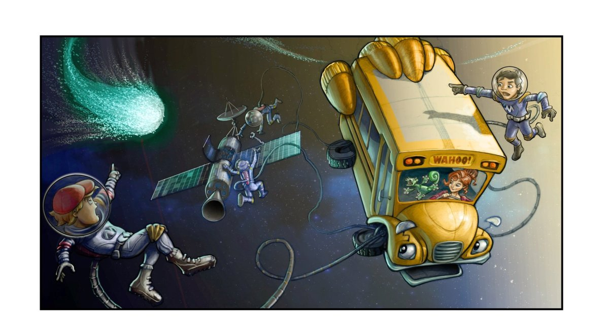 'The Magic School Bus' Gets a 360° Makeover