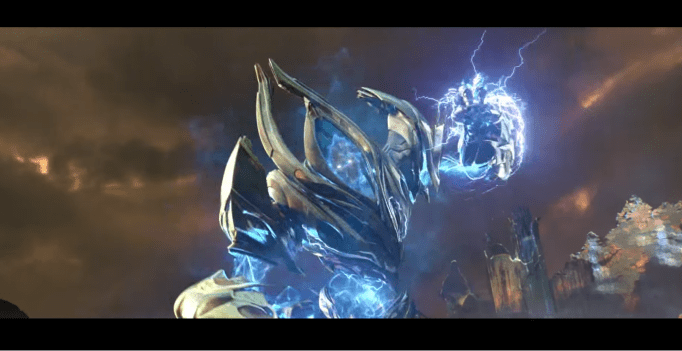 via official StarCraft II: Legacy of the Swarm trailer